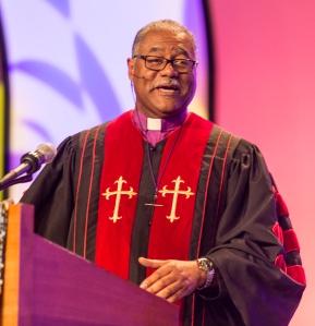 Bishop Trimble Preaches